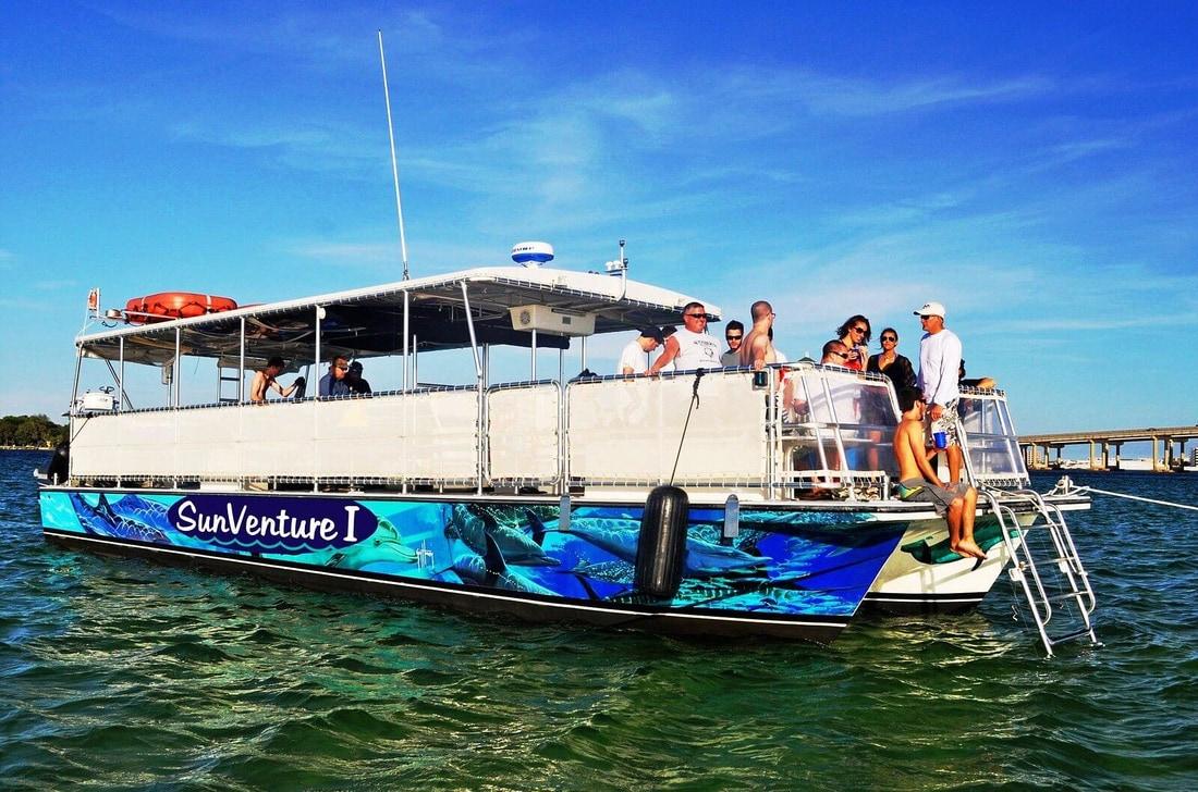 Crab Island Glass Bottom Boat