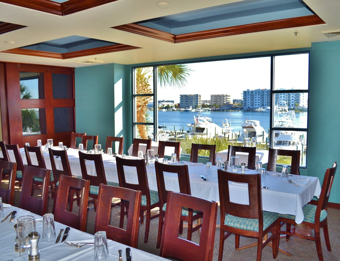 marina cafe dining room