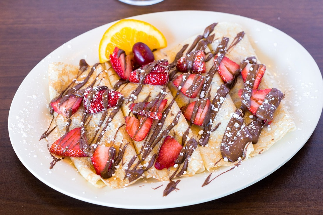 Pancakery crepes