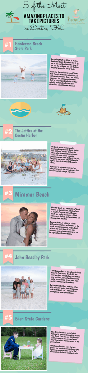places to take pictures in Destin